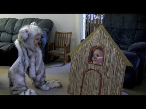 Three Little Pigs and the Big Bad Wolf - BEST!!! WONDERFUL CHILDREN'S VIDEO!!