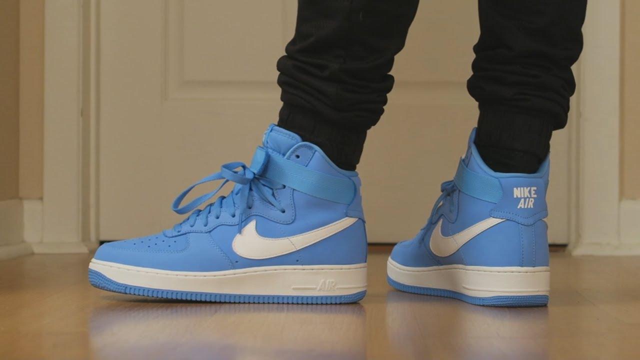 blue air force high top