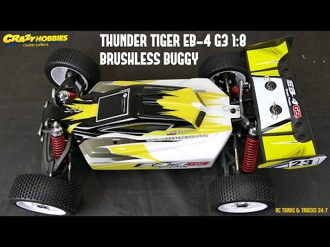 THUNDER TIGER EB-4 G3 1:8 BRUSHLESS BUGGY