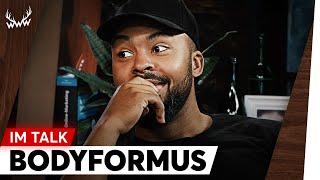 Umgang mit Rassismus, eigene Serie, Kontakt zu Capital Bra uvm. | Bodyformus im Talk