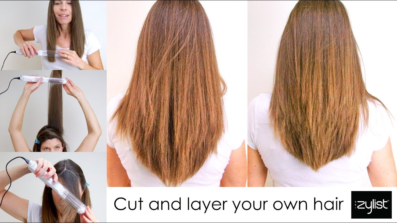 Cut and Layer Your Own Hair and Trim Bangs - Zylist
