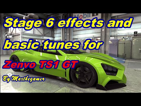 CSR2 Zenvo TS1 GT Milestone Stage 6 Effects