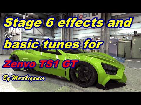 CSR2 Zenvo TS1 GT Milestone Stage 6 Effects