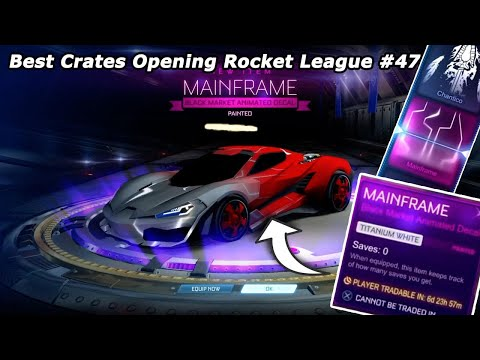 Best Crates Opening Rocket League #47 thumbnail
