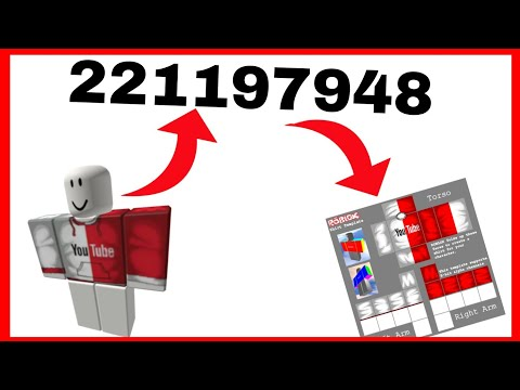 How To Download Find Asset Id Of Any Shirt Pants In Roblox