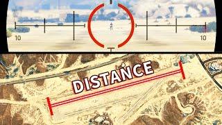 GTA V - Whats the Sniper maximum range?
