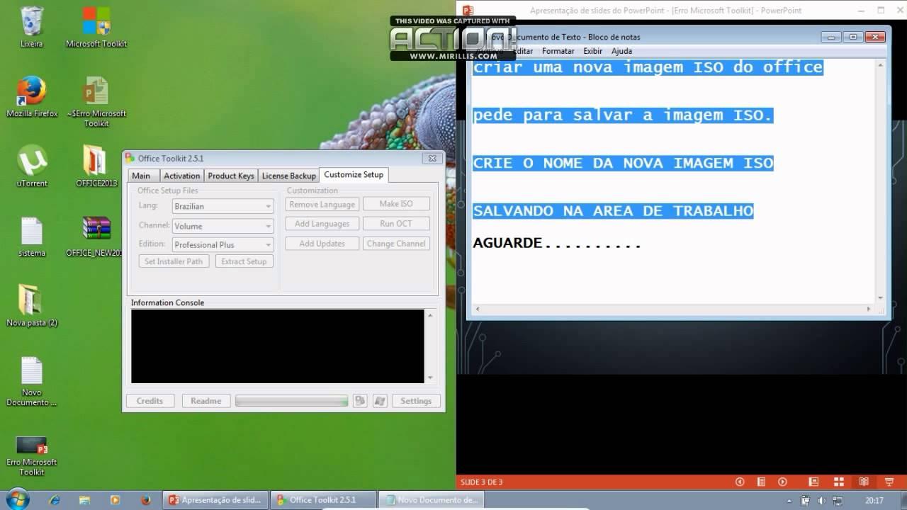 Ativar office 2013 microsoft toolkit 2 5 1 solu o de erro no microsoft toolkit