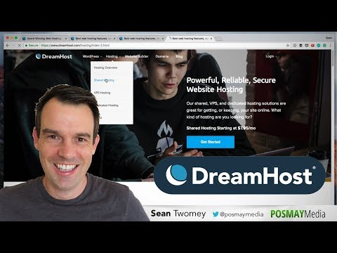 Dreamhost Review 2018: Best Shared Hosting Plan For Getting Started