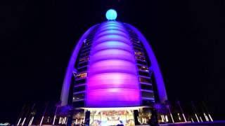 Maqueta BURJ AL ARAB en Dubai.