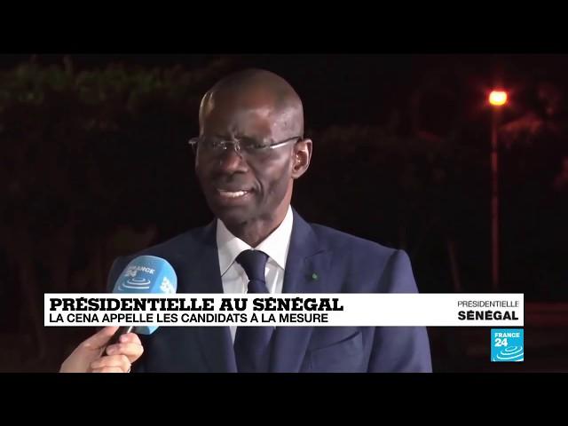 Election Présidentielle: Réaction de Boubacar Camara (Coalition Sonko) sur France 24.
