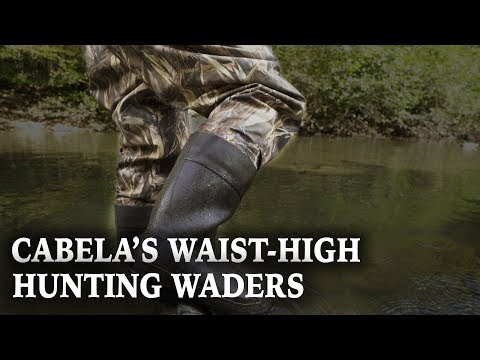 Cabela's Men's Breathable Waist-High Insulated Waterproof Hunting Waders