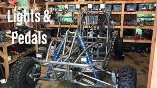 Honda VF 1000 buggy build part 11