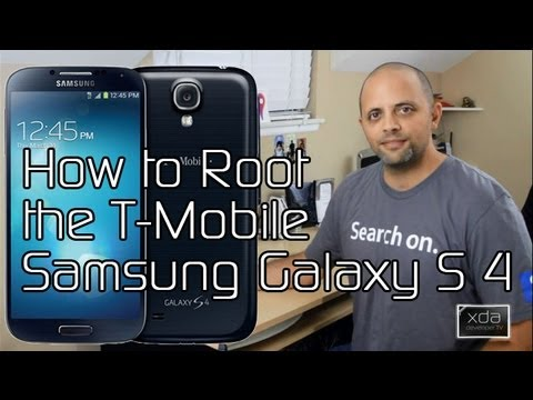 How To Root The T-Mobile Samsung Galaxy S 4