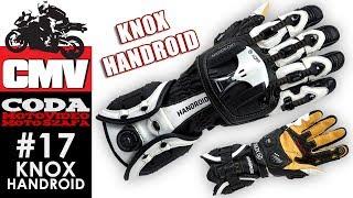 Moto Szafa #17: Knox Handroid - rękawice motocyklowe - CODA MV