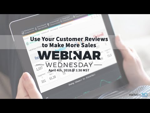 Small Business Strategy: Use Your Customer Reviews to Make More Sales