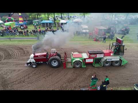 Tractor Pulling Culemborg koningsdag 2018 drone footage