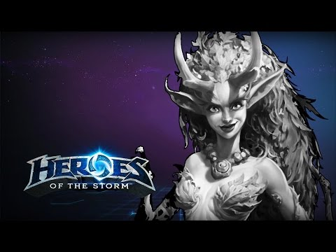 ♥ Heroes of the Storm (A-Z Gameplay) Lunara Feelsbadman (HoTs Quick Match)