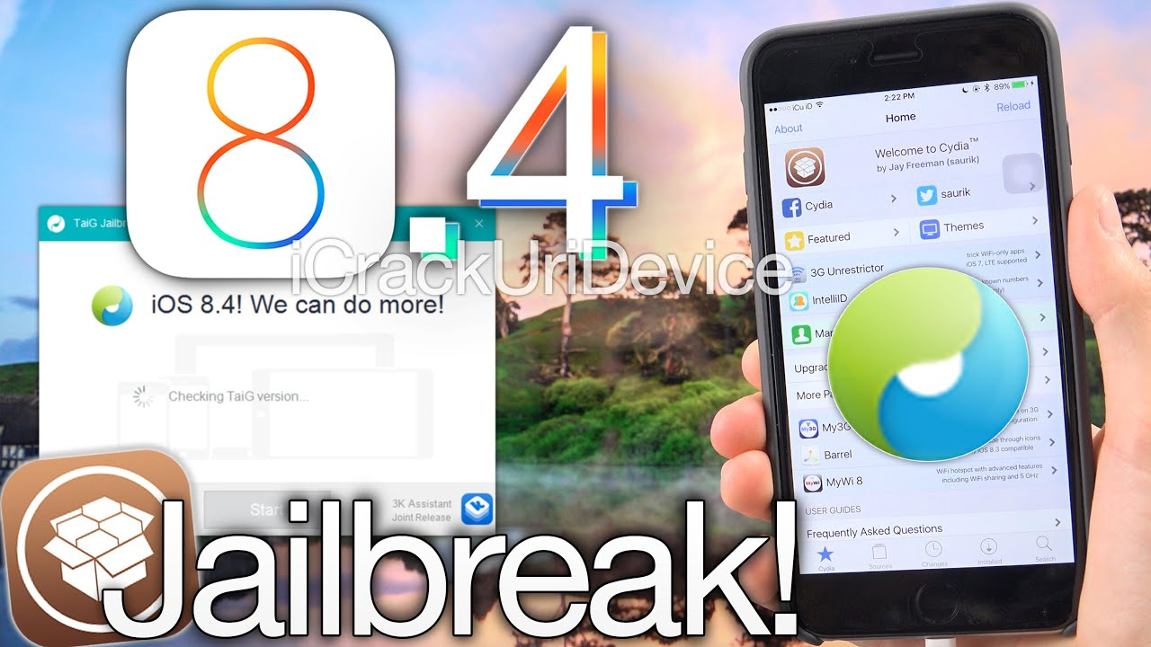 NEW Jailbreak 8.4 Untethered TaiG iOS 8.4 iPhone 6 Plus,6 5s,5c,4S