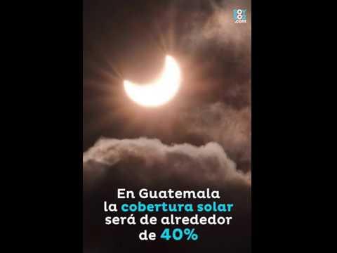 En Guatemala, también será visible el eclipse solar del 21 de agosto
