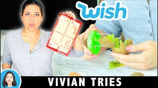 Wish Haul Review   Testing $1 Kitchen Gadgets