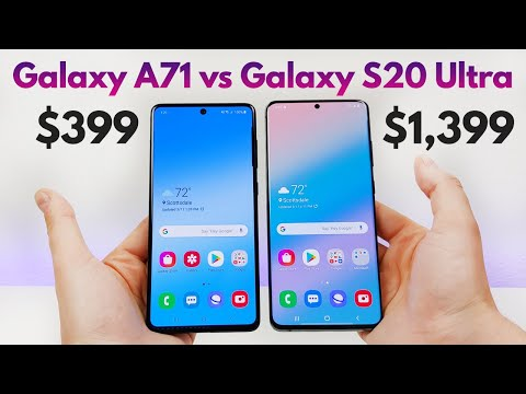 Samsung Galaxy A71 vs Samsung Galaxy S20 Ultra - Who Will Win?