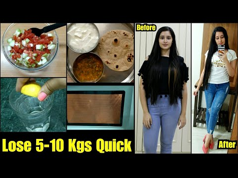 MONSOON WEIGHT LOSS  DIET PLAN to Lose 5 Kgs in 2 weeks| Tried and Tested