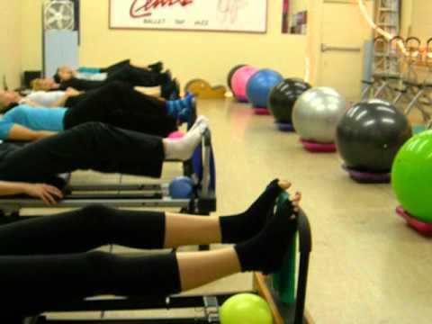 Pilates Group Class 1
