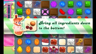Candy Crush Saga Level 744 walkthrough (no boosters)
