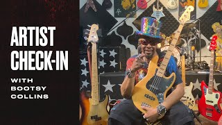 Bootsy Collins Shows His Fender Collection | Fender Artist Check-In | Fender