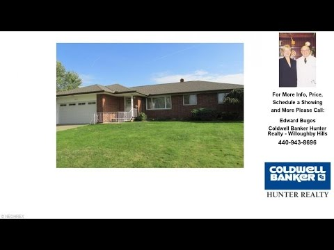26694 Sandy Hill Dr, Richmond Heights, OH Presented by Edward Bugos.