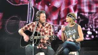 "Miranda Lambert & Blake Shelton ""God Gave Me You"" Wichita KS 3/7/15"