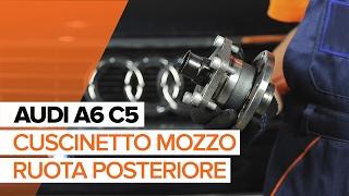 Come sostituire cuscinetto ruota posteriore su AUDI A6 C5 TUTORIAL | AUTODOC
