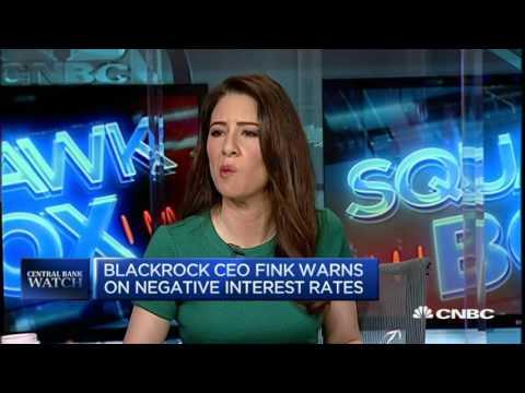 Negative Rates Hit Consumers - BlackRock - 11 Apr 16    Gazunda