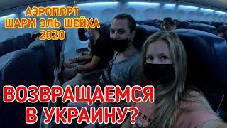Возвращаемся в УКРАИНУ Шарм эль Шейх 2020 аэропорт и проверка