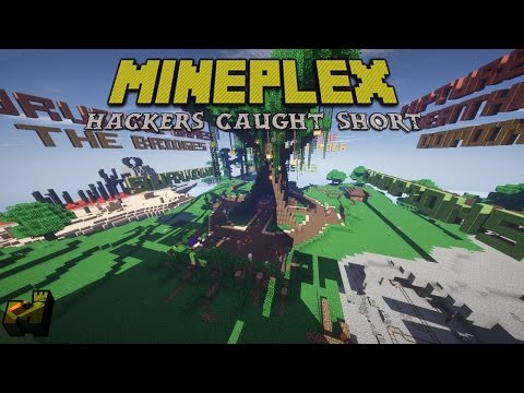 Minecraft: Hackers Caught Short - prosto_virus Fly Hacking in Dominate