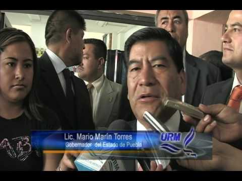 Entrevista con el Gobernador de Puebla Mario Marín