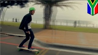 Electric skateboards: the only way to commute to work for Cape Town residents