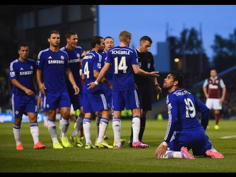 Diego Costa Leads Chelsea Past Burnley [Chelsea 3-1 Burnley GOALS & HIGHLIGHTS]