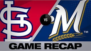 6-run 2nd propels Cards to 12-2 win | Cardinals-Brewers Game Highlights 8/26/19