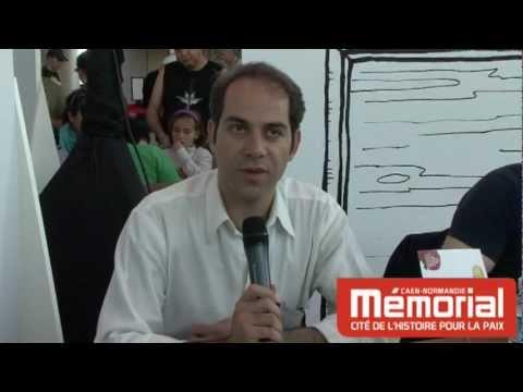 Rencontre des dessinateurs de presse au Mémorial de Caen. Dessiner en Iran et dans le monde