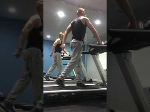 Treadmill dancing to Uptown Funk