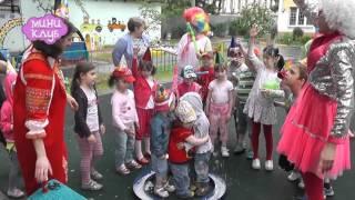 """Шоу мыльных пузырей в детском саду, агентство праздников """"Миниклуб"""""""