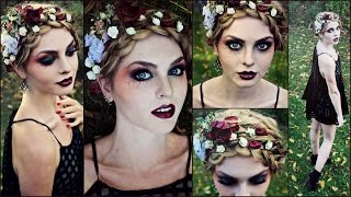 Goth Makeup for Halloween! Striking Vampire, Zombie or Dead Flapper - Jackie Wyers Thumbnail