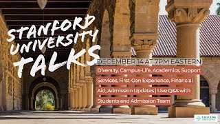 Live Q&A with Stanford Admissions & Current Diverse Students