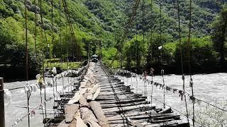 Дикий мост, Бзыпь, 16 мая 2019