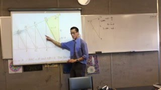 Geometry and Series & Sequences (1 of 2: Understanding the Question to make deduction to solve)