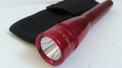 Mini Maglite LED Flashlight 2-Cell AA Unboxing and Test