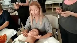 """""""Японский терапевтический массаж лица"""" Диана Гервиене 2 часть"""
