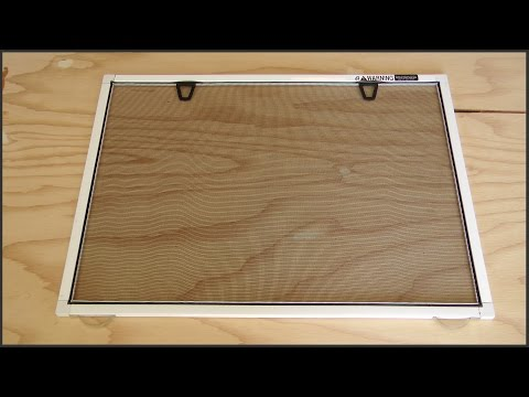 How To Build Window Screens