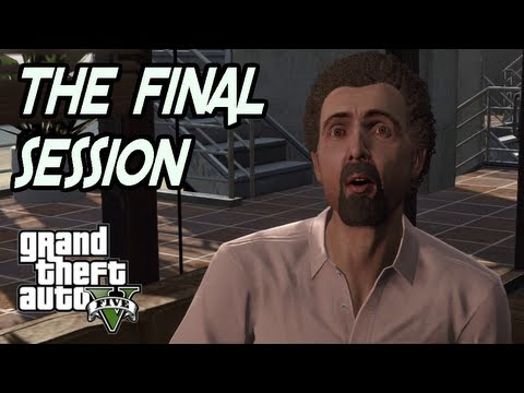 GTA 5 - KILLING MICHAEL'S SHRINK (Dr. Isiah Friedlander) - M